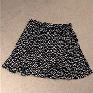 Black & White Skirt